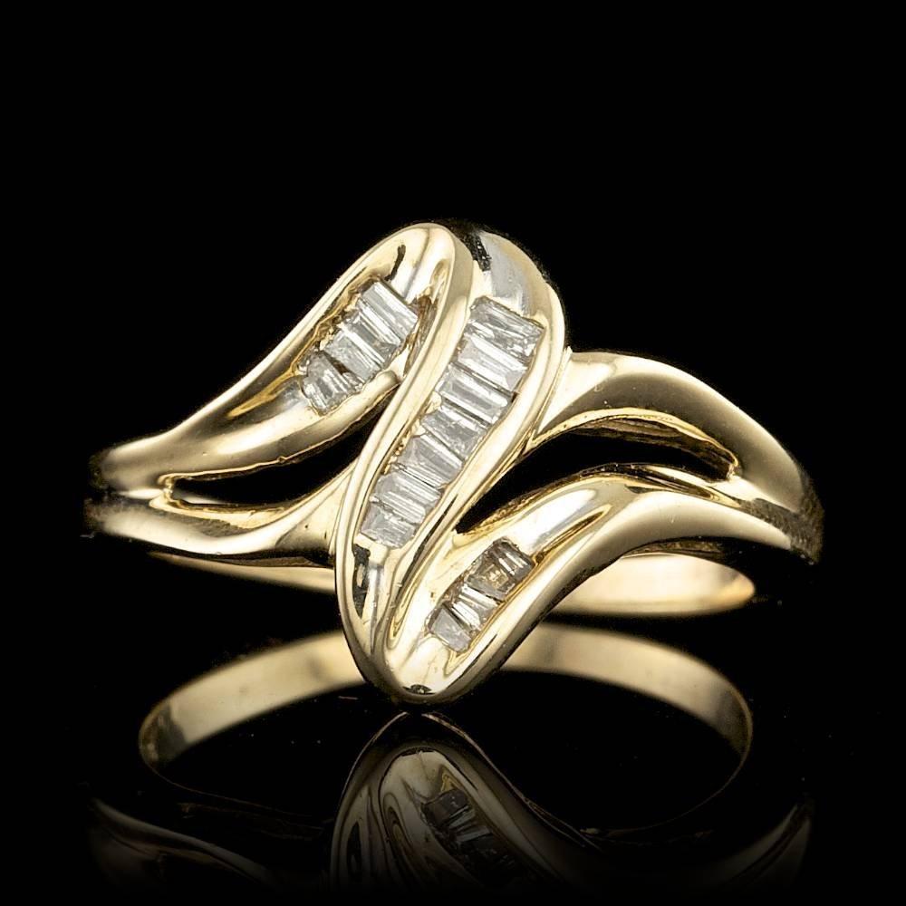 10k White Gold 0.45ct Diamond Ring