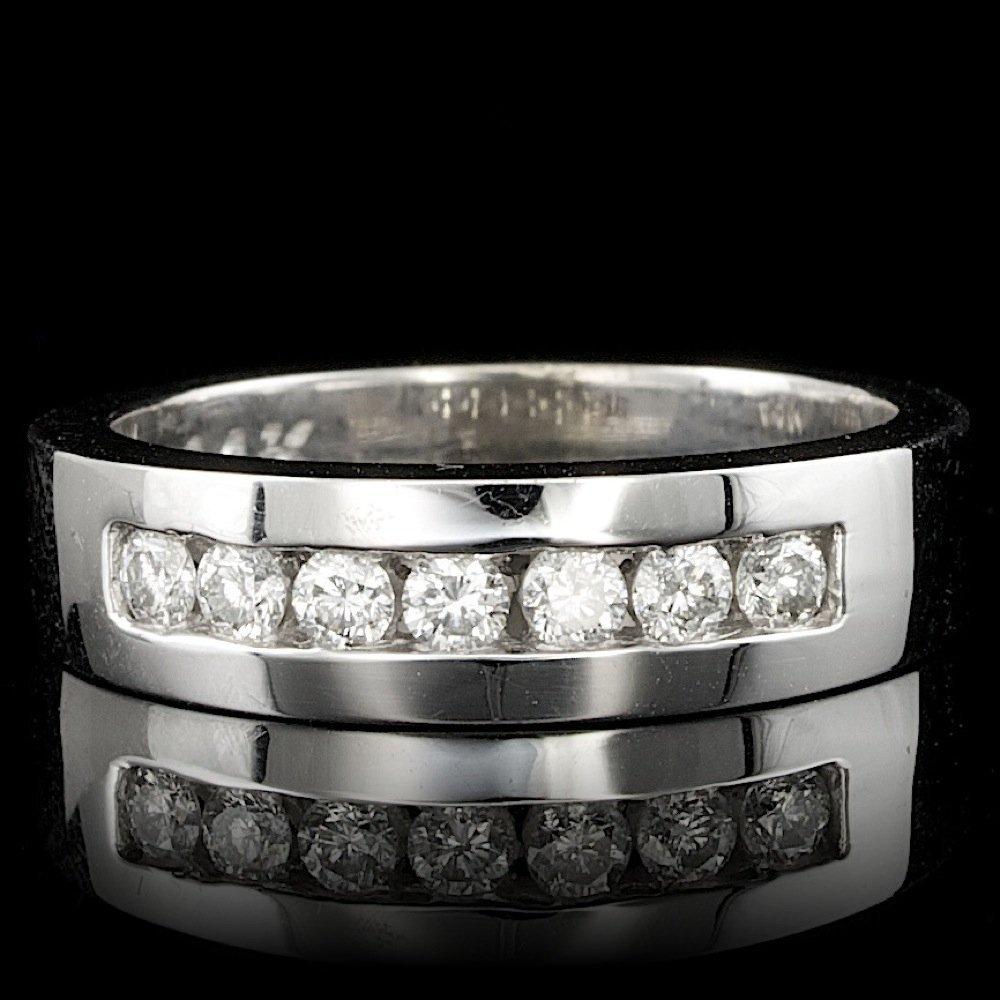 14k White Gold 0.30ct Diamond Ring