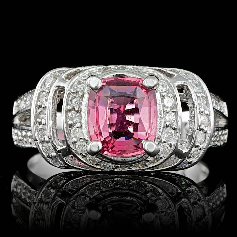 14k Gold 2.00ct Sapphire 0.70ct Diamond Ring