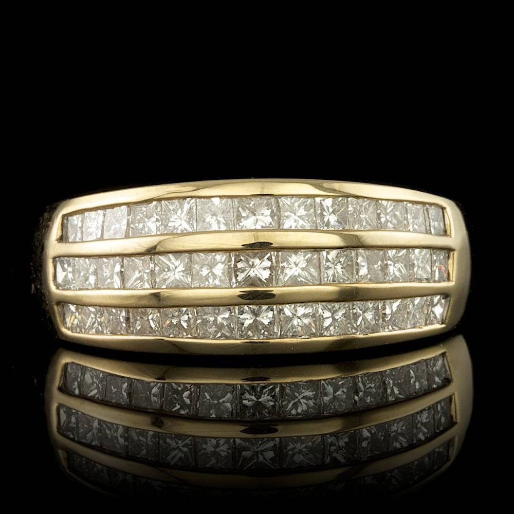 14k Yellow Gold 1.20ct Diamond Ring