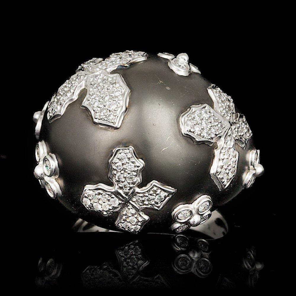 18k White Gold 0.57ct Diamond Ring