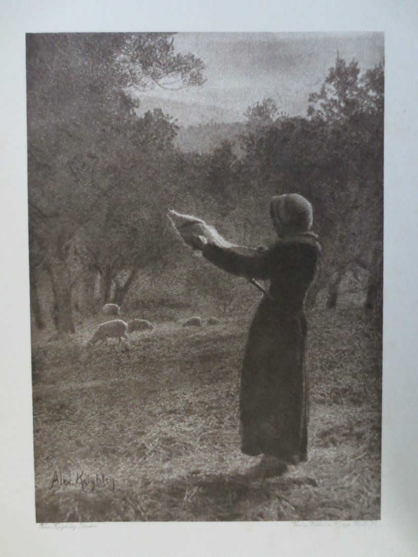 1910 Photogravure by Alexander Keighley (1861-1947)