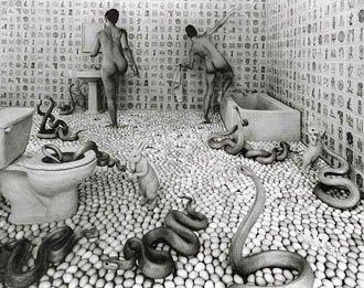1998 Walking On Eggshells Sandy Skoglund  49/235