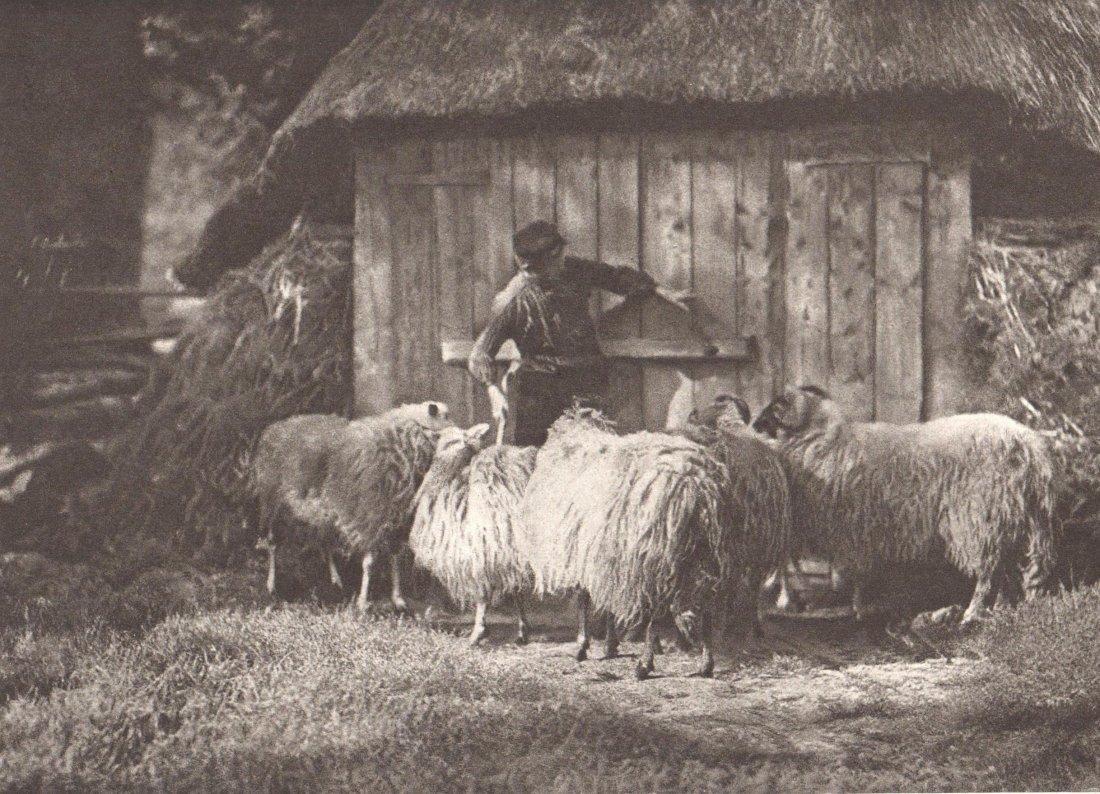 1910 Photogravure J. W. van der Heide