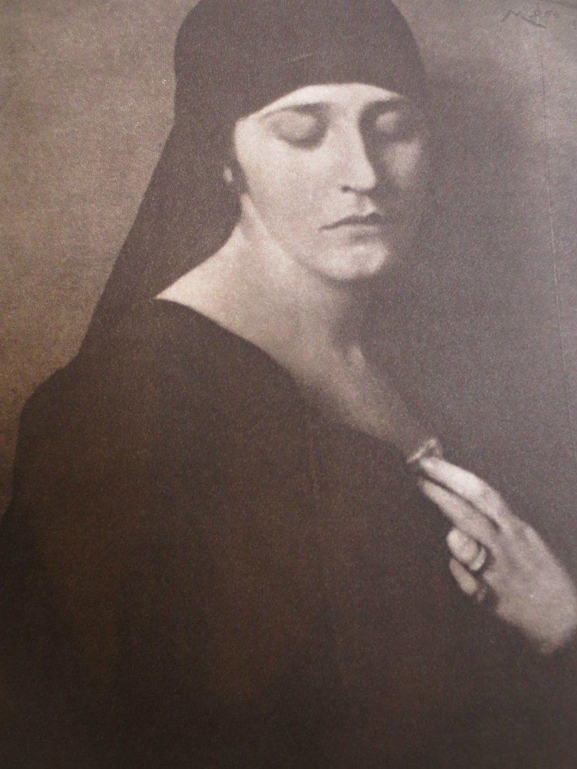 1924 Photogravure 'Elena' by Cesare Scarabello