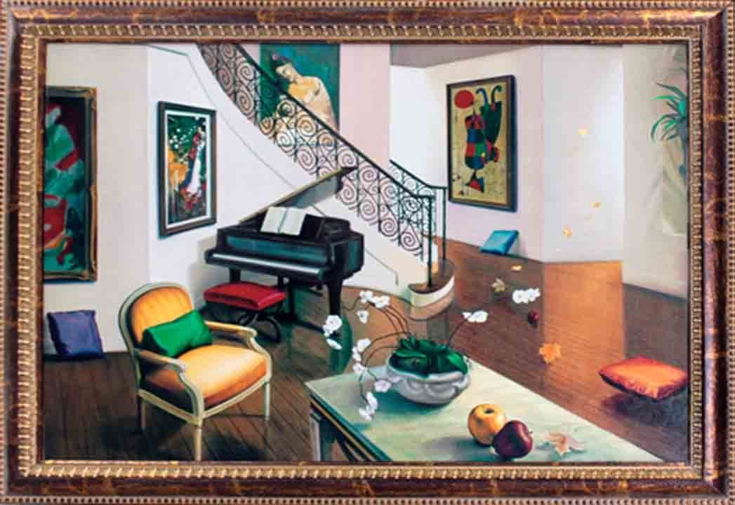 Orlando-Giclee -The Living Room
