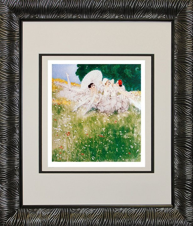Louis Icart-Limited Edition Giclee-Summer Dreams