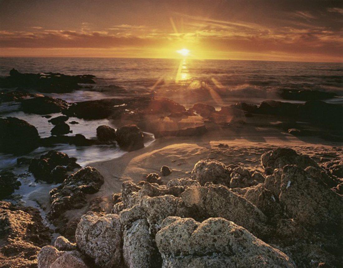 Nick Rodionoff-Sunset Over Rocks Photography