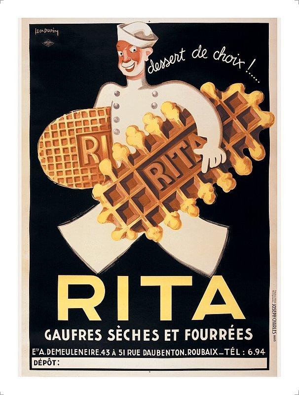 French Poster Rita