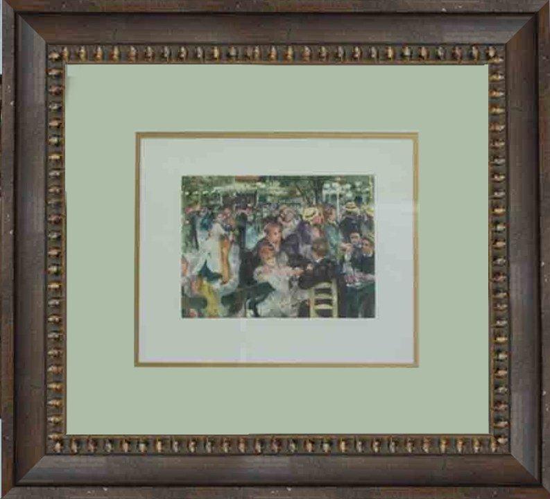Pierre Renoir-Etching-Gathering