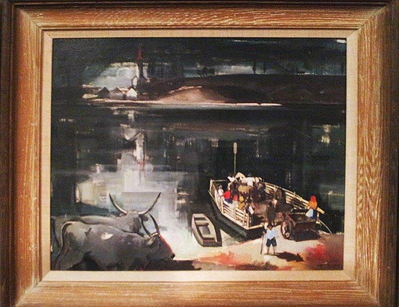 Vilmus Aba Novak- Oil on Board