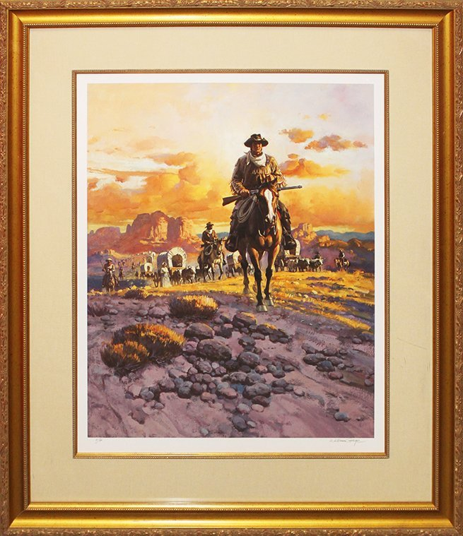 William George Limited Edition The Cowboy