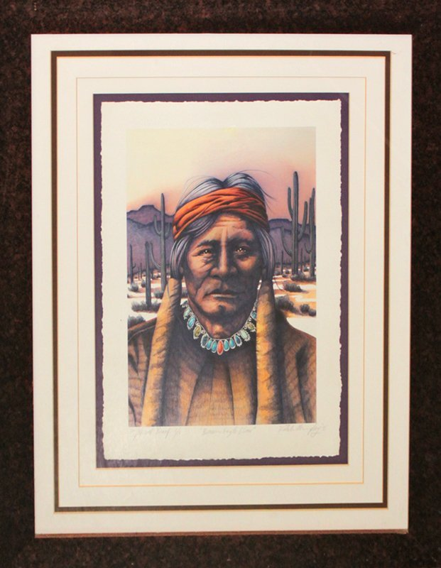 Butch Murphy Limited Edition Giclee Brown Eagle Claw