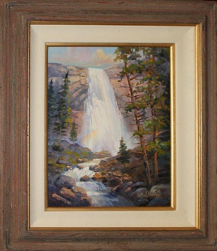 Rafael Original Oil-Fountain of Life