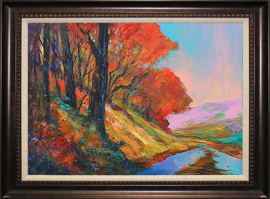 Michael Scholfield Vibrant New England Foliage