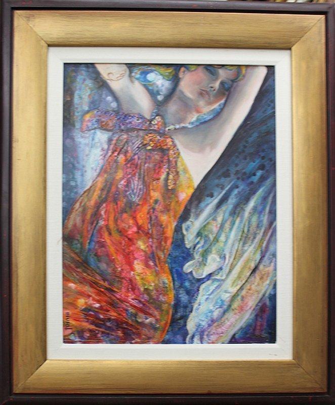Allura-Original Oil Painting-Alluring Hand Signed