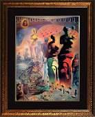 Salvador Dali Lithograph Hallucinogenic Toreador