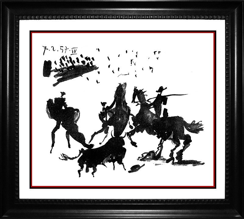 Pablo Picasso Limited Edition Bullfight