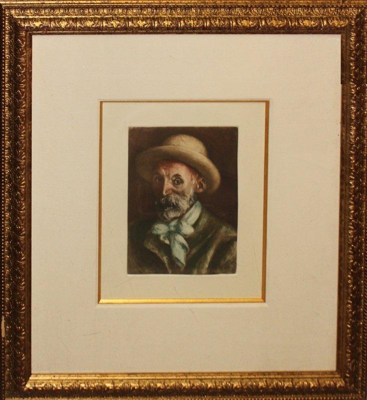 ****Pierre Renoir***Etching After Renoir****
