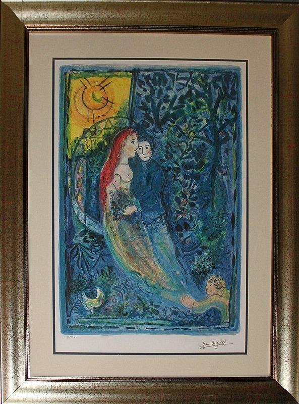 Marc Chagall Limited Edition Wedding