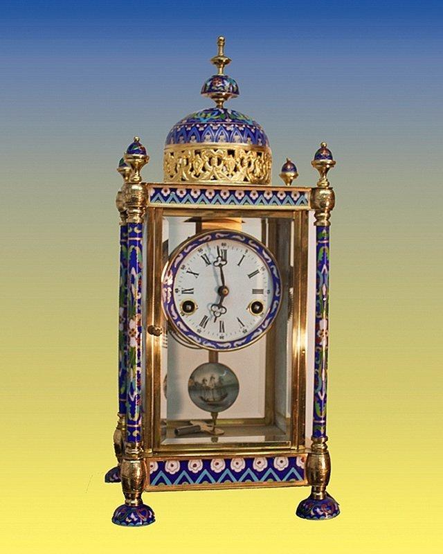 Cloisonne Clock