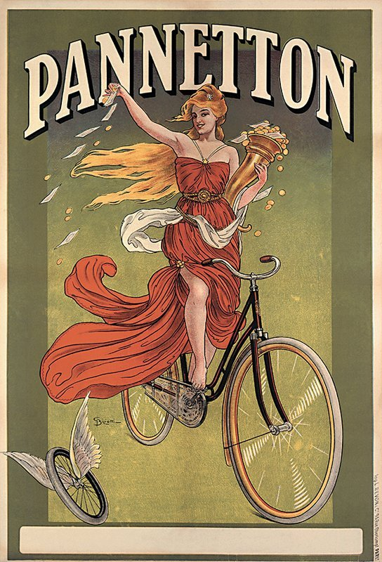 Pannetton - French Poster. Reprint from 1990