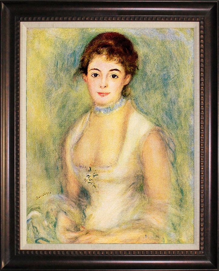 Pierre Renoir-Limited Edition-Portrait Of Jeanne Samary