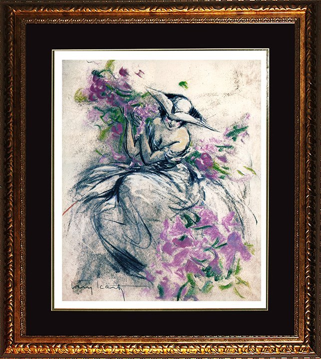 Louis Icart Limited Edition Lavender Lady