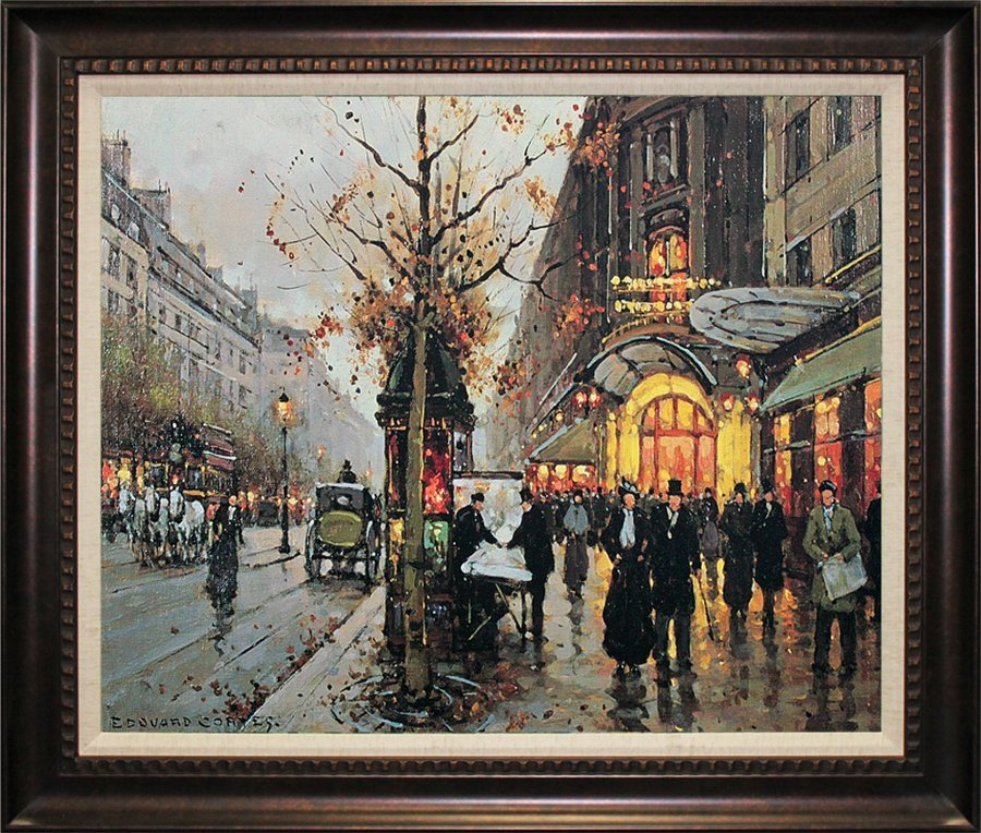 Edouard Cortes-Giclee-City Streets