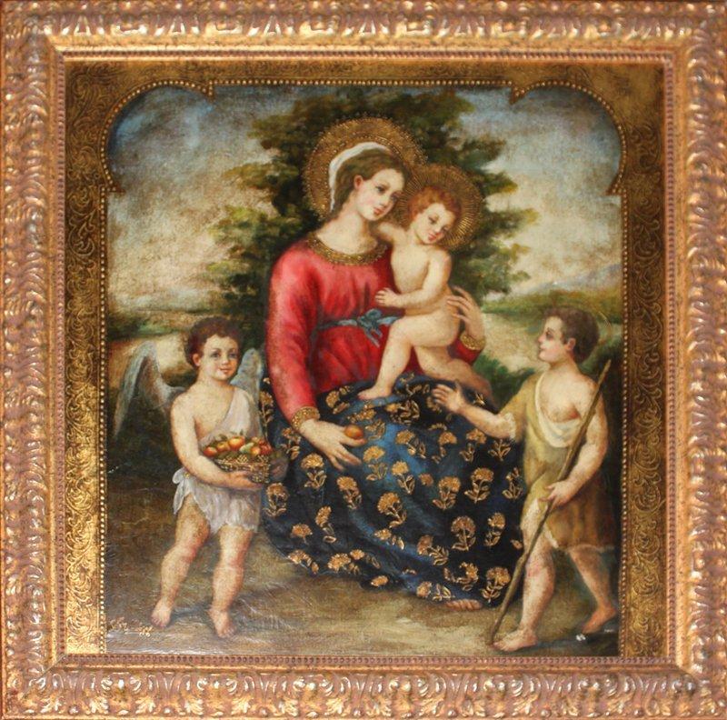 Virgin Mary Original Oil