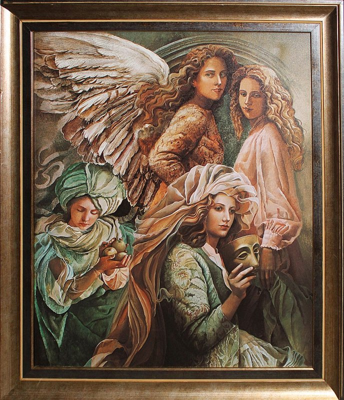 Vicens-Winged Dreams-Limited Edition Giclee