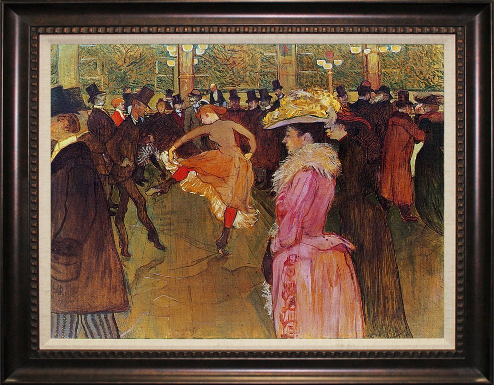 Toulouse Lautrec Moulin Rouge II