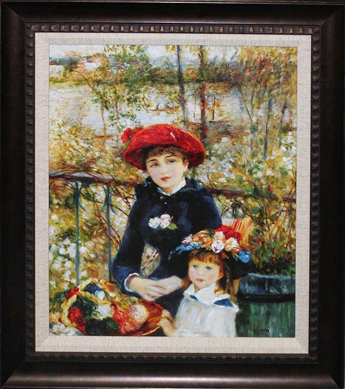Pierre Renoir-The Two Sisters