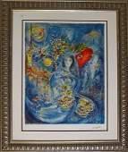 Marc Chagall Limited Edition Bella