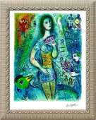 Marc Chagall Limited Edition Lithograph Circus Dancer