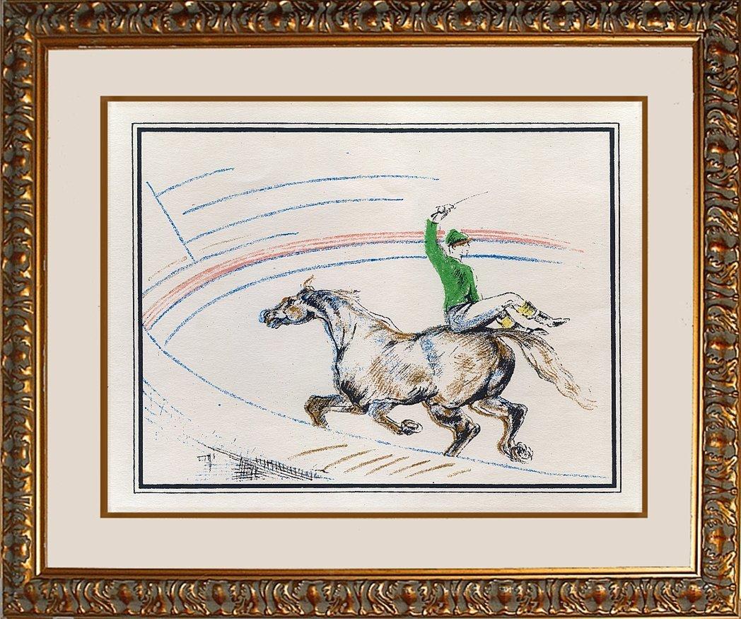 Toulouse Lautrec Original Lithograph Circus