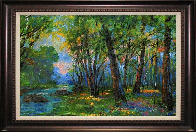 Michael Schofield Original Oil The Woods