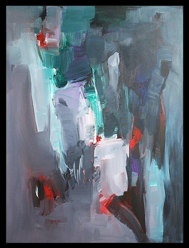 Michael Schofield Original Abstract on Canvas