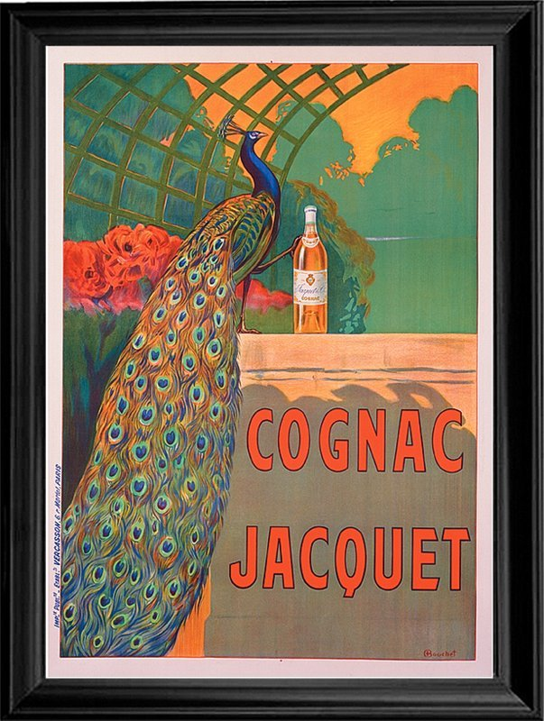 French Poster-Giclee-Cognac Jacquet