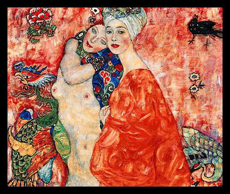 Gustav Klimt Limited Ed Giclee Friends