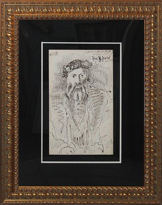 Pablo Picasso Original Lithograph from 1955