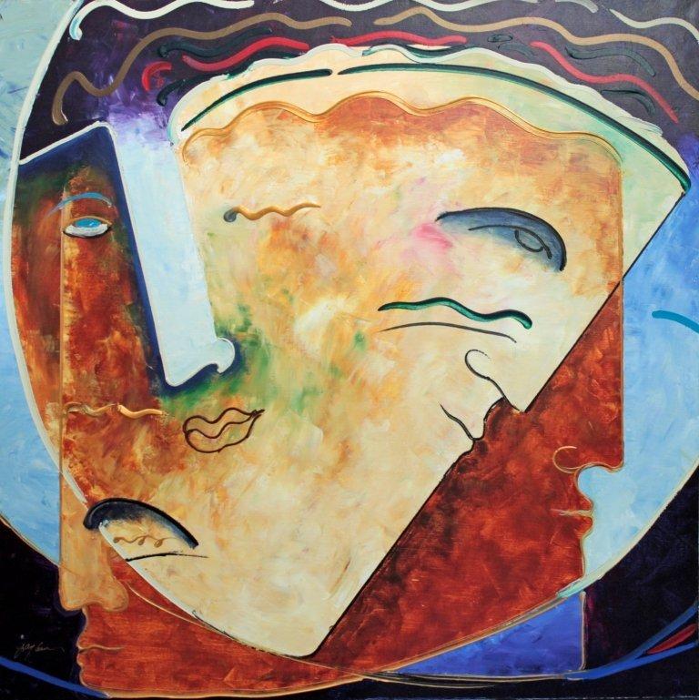 Gaylord Soli Original Mixed Media on canvas