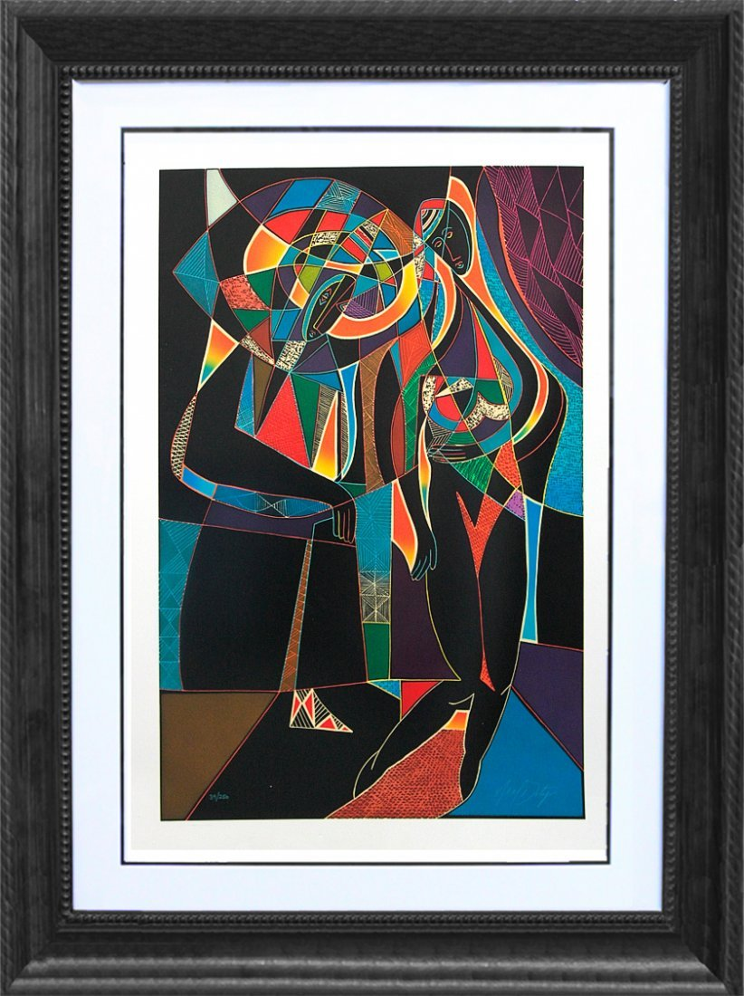 Serigraph Limited Edition Neal Doty, hand signed and