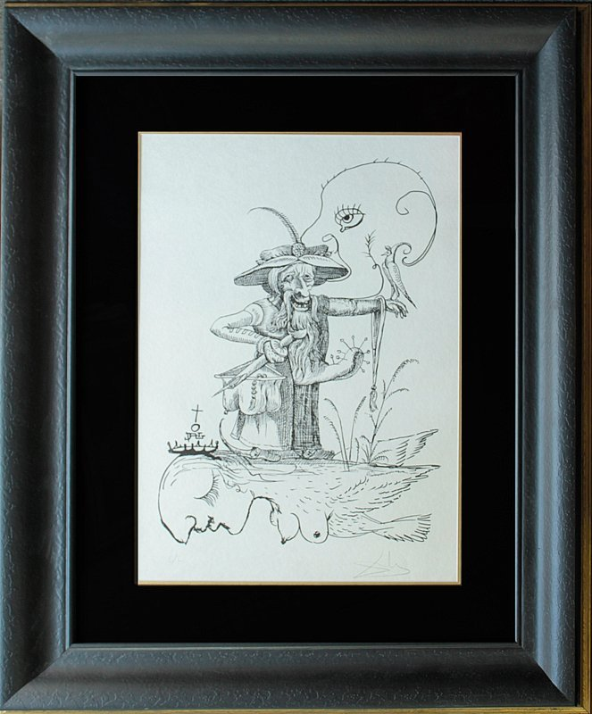 Pantagruel's Comical Dreams by Salvador Dali Original