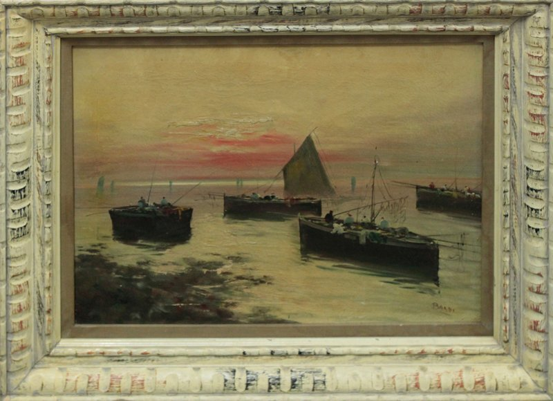 Original Oil on canvas by Gustavo Bardi