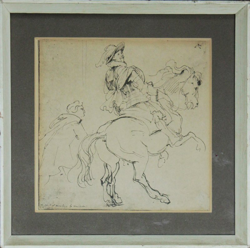 Pen and Ink from Flemish 1590-1641