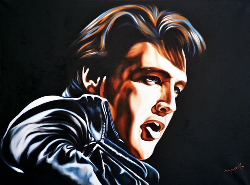 Hector Monroy, Elvis Original Oil
