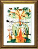 Salvador Dali Mad Tea Party Ltd Edition