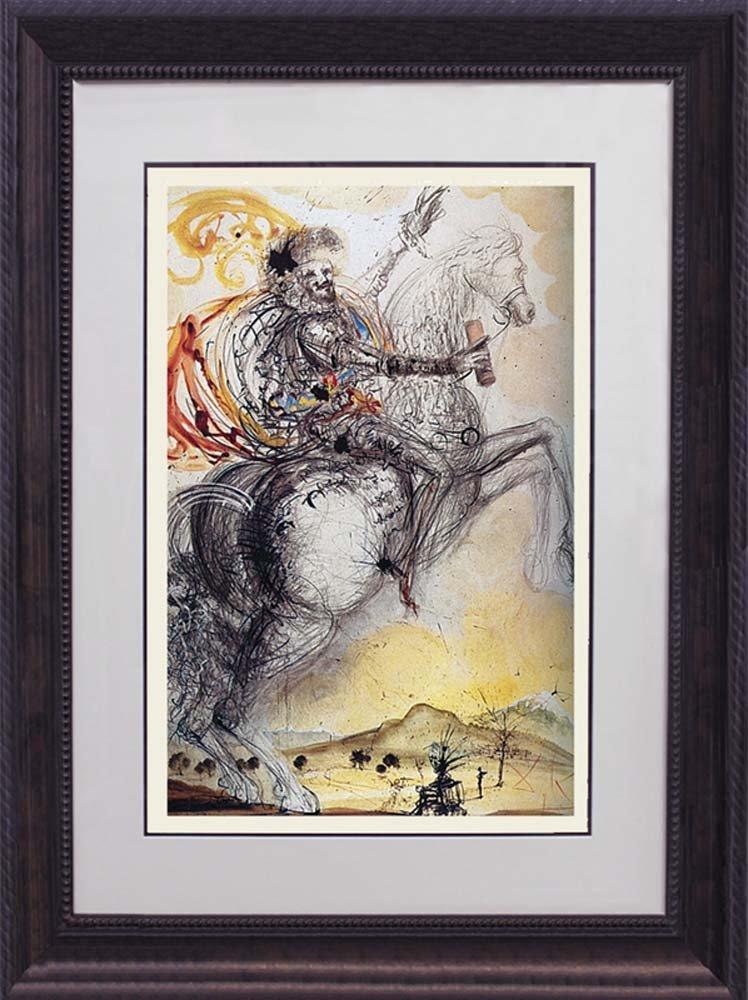 Salvador Dali-Limited Edition Lithograph -El Cid