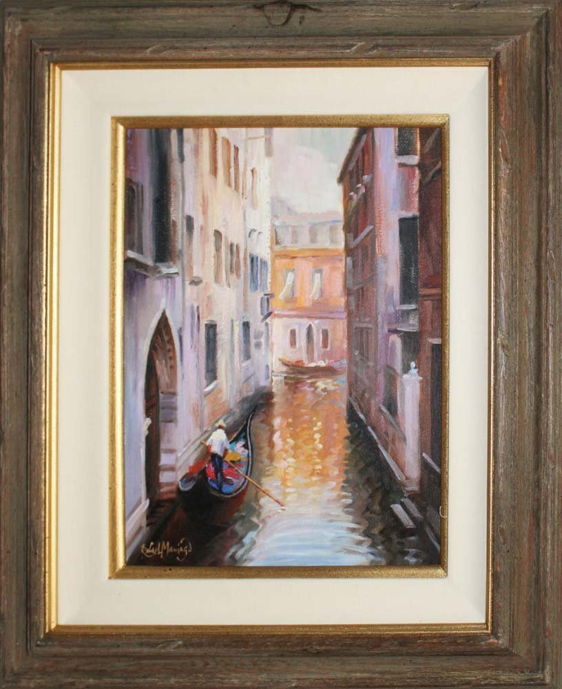 Rafael Original Oil Venice View